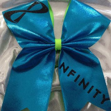 "3"" Cheer Bow- NFINITY"