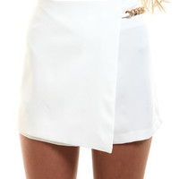 KIT CHAIN SKORT // WHITE