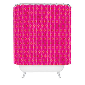 Caroline Okun Bouvier Shower Curtain
