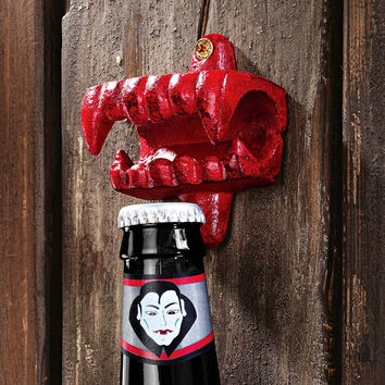 Park Avenue Collection Vampire Teeth Fangs Bottle Opener