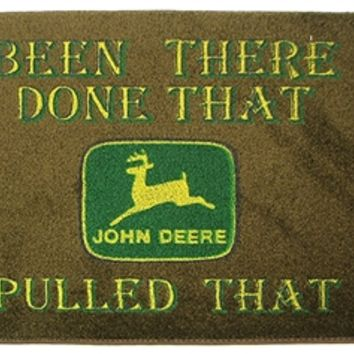 john deere door mat from decorative