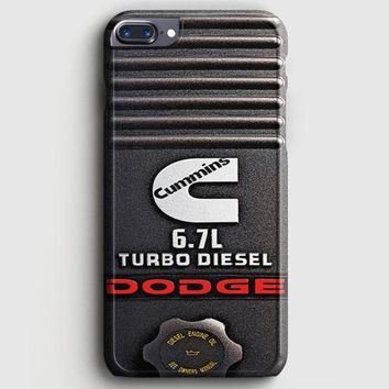 Dodge Cummins Turbo Diesel iPhone 8 Plus Case | casescraft