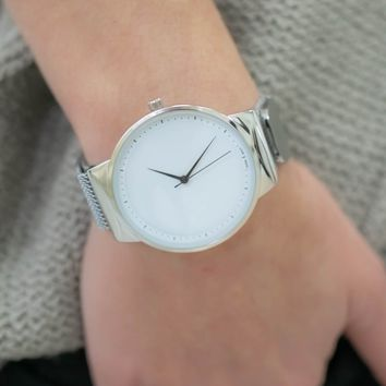 Just in Time Watch - Silver