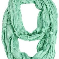 Cecily Crinkled Infinity Scarf
