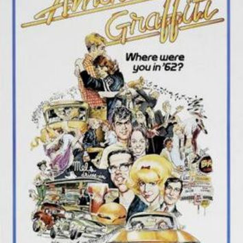 American Graffiti Movie Poster 24inx36in
