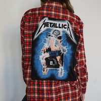Metallica Reworked Flannel