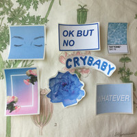 Tumblr blue aesthetic stickers
