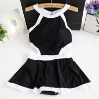 Women  Swimsuit  Bathing  Skirt  Bikini  thermal  spring