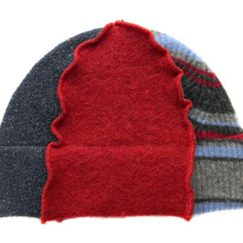 Upcycled Beanie Hat #24