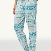 Geo Jungle Harem Pants