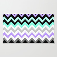 Chevron #14 Area & Throw Rug by Ornaart