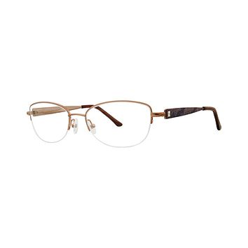 Dana Buchman - Buttercup 51mm Gold Eyeglasses / Demo Lenses