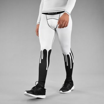 The Sauce White Tights for men