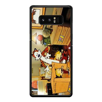 Calvin And Hobbes Surprise Samsung Galaxy Note 8 Case