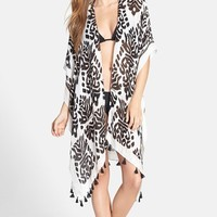 Women's Nordstrom Fringed Swim Cover-Up