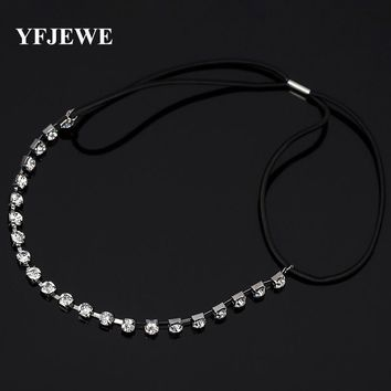 Fashion Luxury Pearl Rhinestone Beads Hairbands Lace Crown Crystal Bridal Headband Hair Piece Accessories Jewelry Tiara Wedding