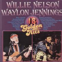 Willie Nelson and Waylon Jennings - 18 Golden Hits (import) LP
