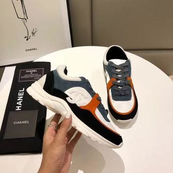 New Fashion Double C Low Top Sneaker Reference #1228 - Beauty Ticks
