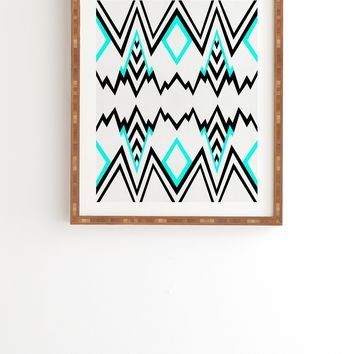 Elisabeth Fredriksson Wicked Valley Pattern 1 Framed Wall Art