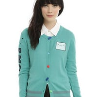 Cartoon Network Adventure Time BMO Girls Cardigan