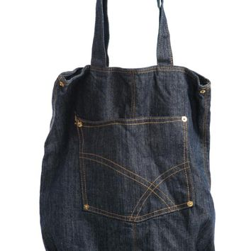 Vintage 90's Denim Jeans Purse