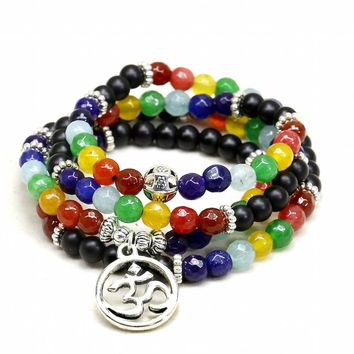 6MM Mala Meditation Beads Tree of Life Pendent
