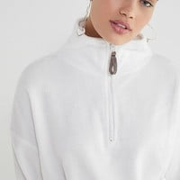 UO Angela Fleece Pullover Top | Urban Outfitters