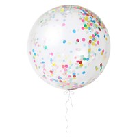 Multi Colored Giant Confetti Balloon Kit