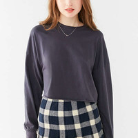 Truly Madly Deeply Long Sleeve Cropped Boy Tee | Urban Outfitters