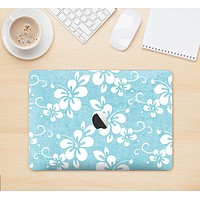"""The Vintage Hawaiian Floral Skin Kit for the 12"""" Apple MacBook"""