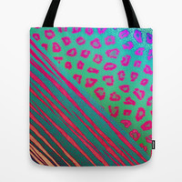 Rawrrr!! Tote Bag by Ally Coxon