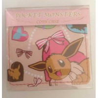 Pokemon Center 2013 Eevee Coin Purse #2 (Pink Version)