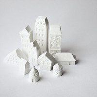 Clay Architecture Set by POAST on Etsy