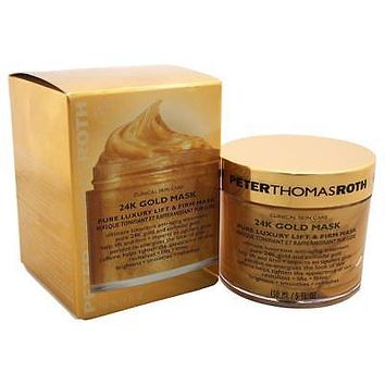 Peter Thomas Roth 24K Gold Mask Pure Luxury Lift and Firm Mask, 150 ml / 5 fl oz