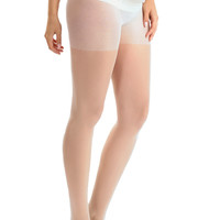 Blanqi Ultra Sheer Low Rise Belly Support Band Maternity Pantyhose