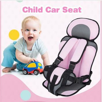 Portable Thickening Sponge Baby Safety Car Seat