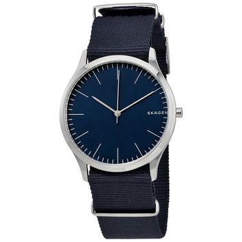 Skagen Jorn Blue Dial Mens Nylon Watch SKW6364