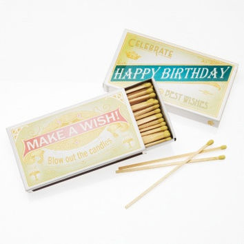 Make A Wish Birthday Matches