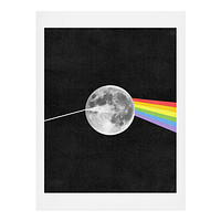 Nick Nelson Dark Side Of The Moon Art Print