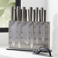 Schmidt Brothers ® Grey Shiplap 15-Piece Knife Set
