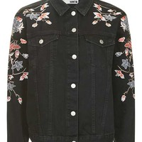 MOTO Floral Embroidered Jacket - New In