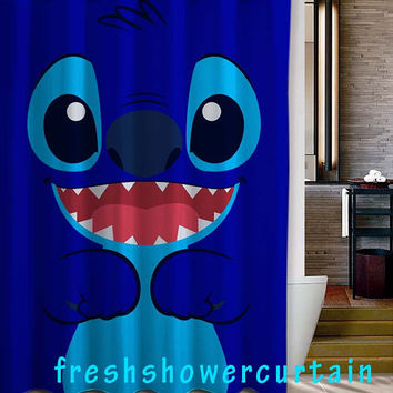 lilo and stitch Shower Curtain