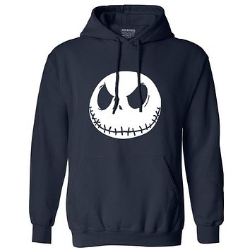 New autumn Mens sweatshirt men fashion Nightmare Before Christmas Jack Skellington Male Charcoal long Sleeve hoodies tracksuit