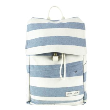 The Benson Backpack - Rugby Stripe