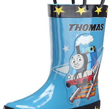 Thomas & Friends Star Rain Boot (Toddler), Blue, 6 M US Toddler