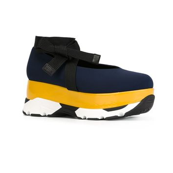 Marni Colour Block Platform Sneakers - Capsule By Eso - Farfetch.com