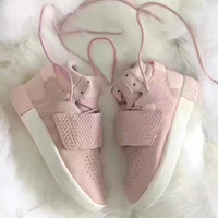 """Adidas"" Tubular lnvader Strap 750 Pink Women's Sneakers Running Sports Shoes"