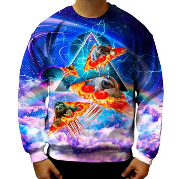 Sloth Pizza Sweatshirt
