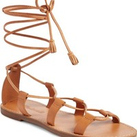 Madewell The Boardwalk Lace-Up Sandal (Women) | Nordstrom
