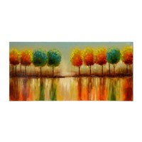 Tree Reflections Canvas Oil Painting | Kirkland's